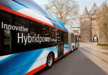 Busse der Stadtwerke Neuss als Werbefläche