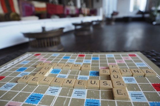 Scrabble für Wellneuss