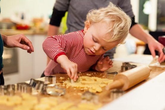 Kekse backen und Energiesparen