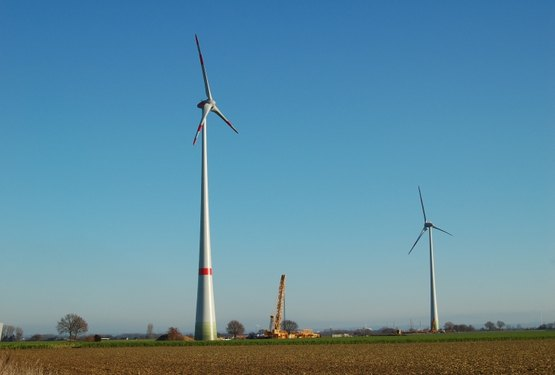 Windräder in Neuss Hoisten