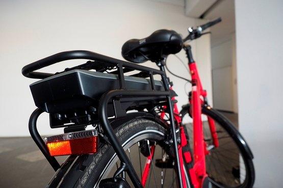 E-Bike der Stadtwerke Neuss