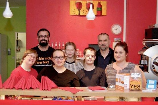 Team Kunstcafé Einblick