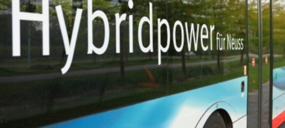 Hybridbus - Halten auf Wunsch
