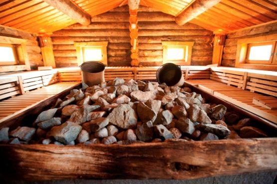 Sauna Innen - Wellneuss