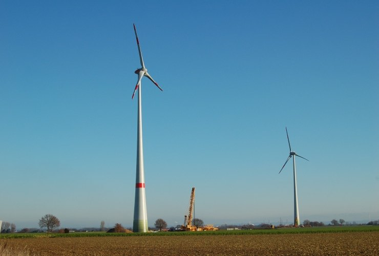 Windräder in Neuss Hoisten